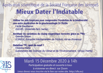 Annonce SFIS 2020