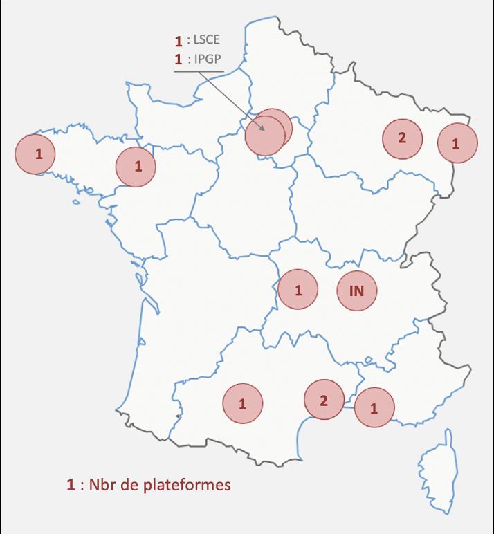 RéGEF : distribution sur le territoire des moyens du réseau TIMS-MCICPMS