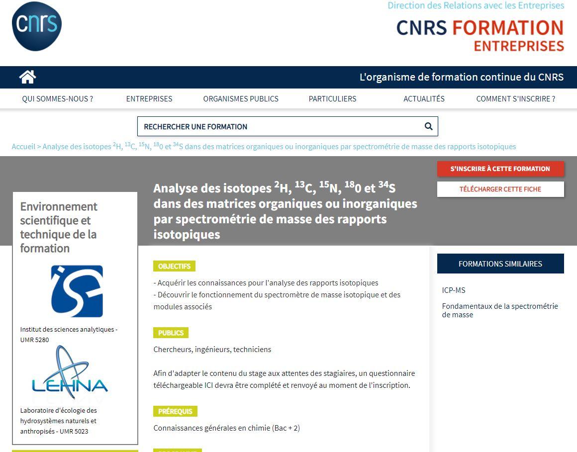 FormationCNRS