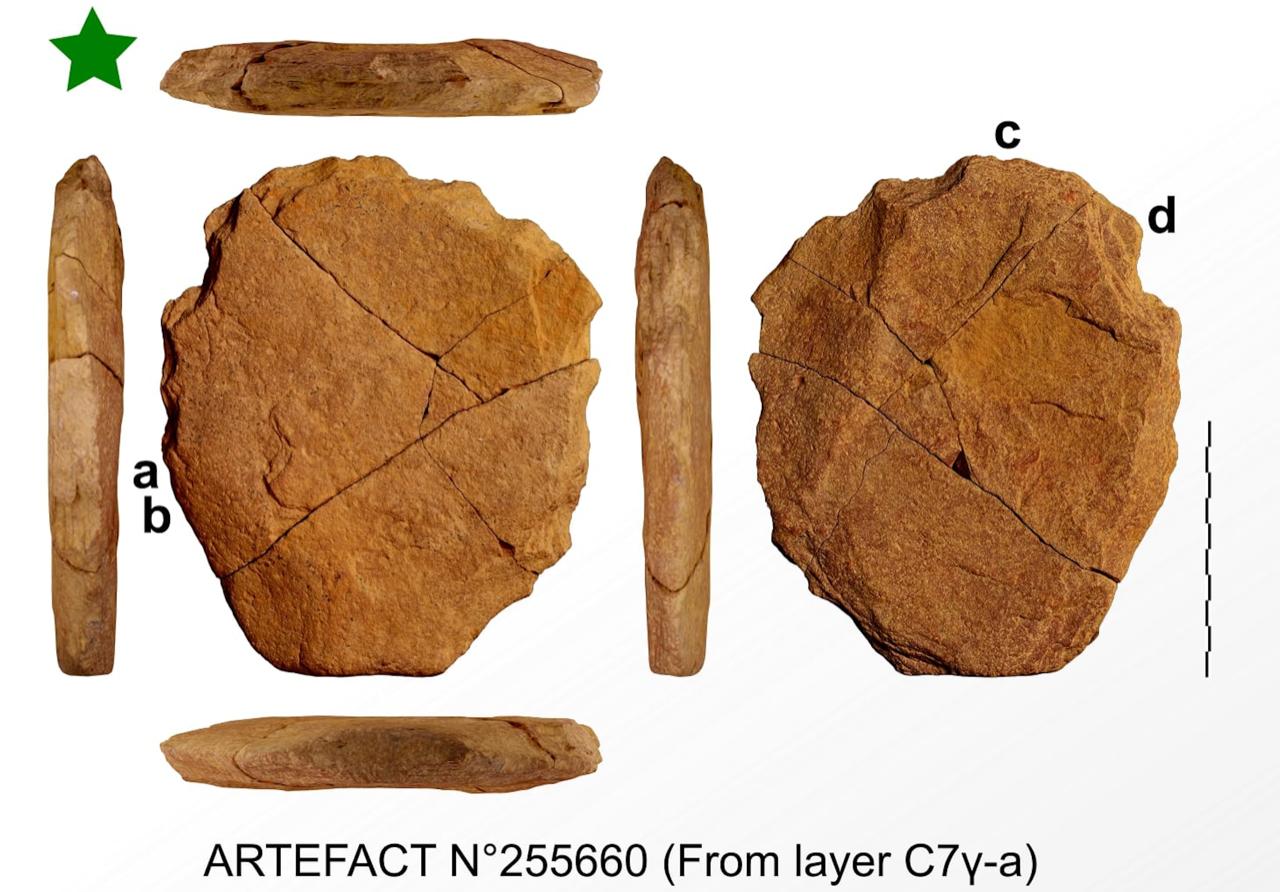 figure – 24 ka human artefact Brazil